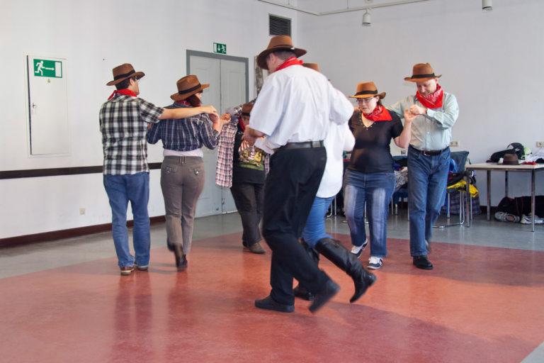 Tanzkurse Proben