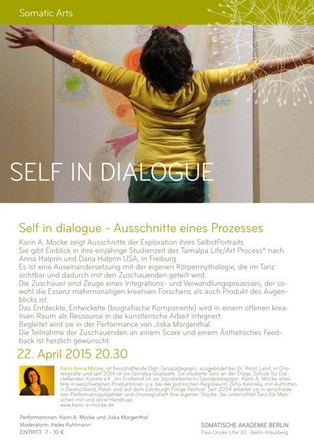 Flyer Self In Dialogue